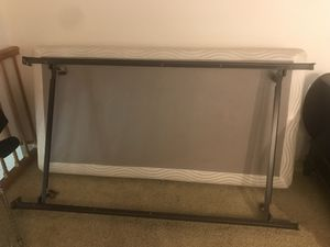 Twin box spring & Frame for Sale in Maple City, MI