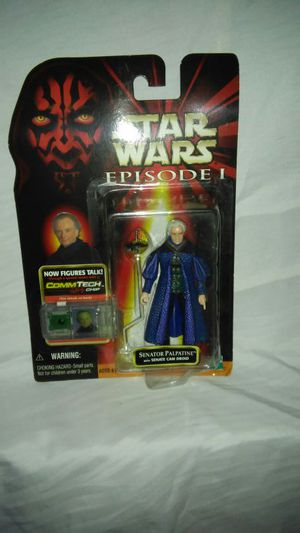 Star Wars Episode 1 Senator Palpatine for Sale in Northfield, OH