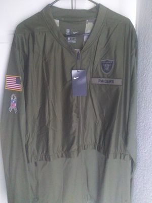 Nike Salute To Service Raiders Jacket for Sale in Las Vegas, NV