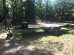 Homemade 12 ft trailer for Sale in Cleveland, TX