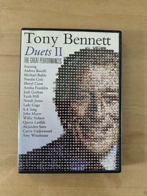 Tony Bennett duets II - music dvd for Sale in Trenton, NJ