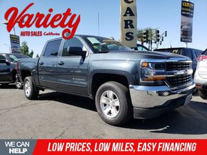 2017 CHEVY SILVERADO 1500 CREW CAB . Excellent condition extra clean. Low miles. Clean title. Quality vehicle!! for Sale in Fontana, CA