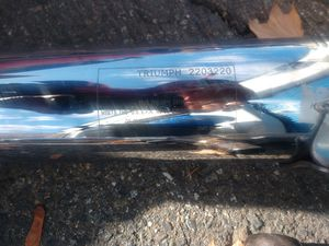 triumph motorcycle exhaust for Sale in Mountlake Terrace, WA