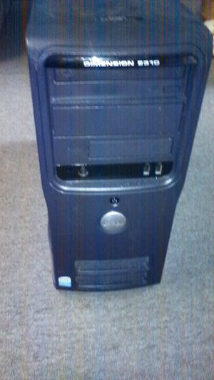 Dell dimension e310 Windows 7 2 gigs of ram 250 GBS hardrive for Sale in Belleview, FL