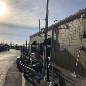 Galvanized Tandem Axle Sailboat trailer for Sale in Huntington Beach, CA