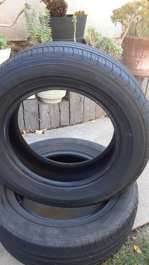 2 ) 195/65R15 tires OHTSU for Sale in Orcutt, CA