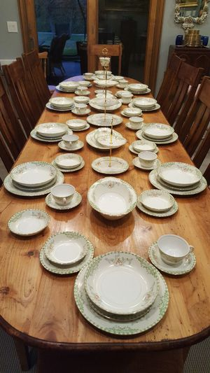 1950's Registered Celebrate Japan Service for 10 with Serving pieces. for Sale in Loomis, CA