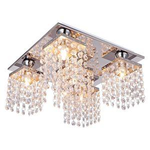 5-Lights Square Crystal Chandelier for Sale in Henderson, NV