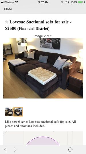 Lovesac sactional sofa for Sale in Brooklyn, NY