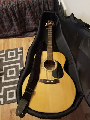 Takamine acoustic guitar with case 200 obo for Sale in Portland, OR
