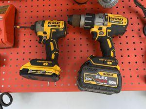 Dewalt Flexvolt Hammer and impact drill set for Sale in Lacey, WA