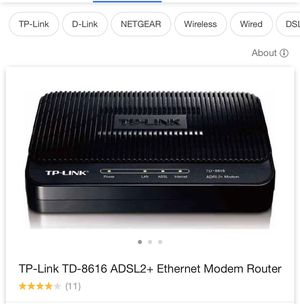 Modem Router for PC for Sale in Chino, CA