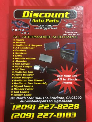 We do have aftermarket part for a good price give us a call for Sale in San Ramon, CA