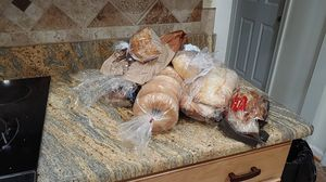 Breads, hot dogs, pastas nd canned goods. for Sale in Virginia Beach, VA