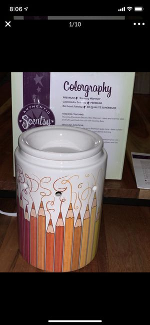 Colored pencil scentsy warmer for Sale in Rancho Cucamonga, CA