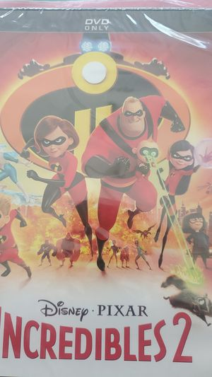 The Incredibles 2. DVD. New for Sale in Westmont, IL