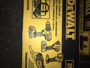 DeWalt 20v 4 tool combo for Sale in Lanham, MD