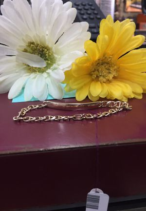 ID bracelet (plain) Gucci link style for Sale in Lakewood, CO