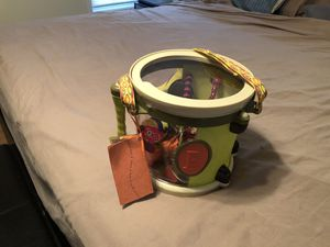 Drum set with 7 instruments/ new for Sale in Fuquay-Varina, NC