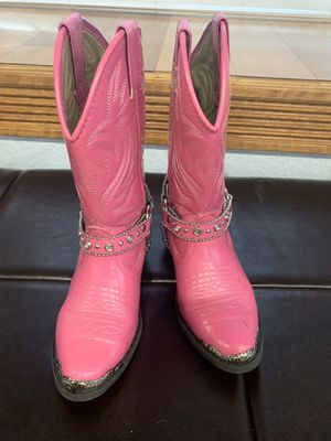 Girls cowgirl boots size 13 for Sale in Summerfield, FL