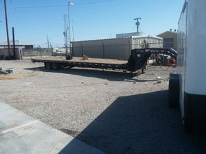 2015 PJ 40' flatbed gooseneck trailer for Sale in Yuma, AZ