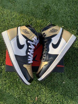 Jordan 1 gold toe for Sale in Buckeye, AZ