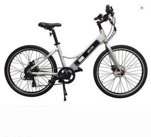 Bike GenZe Sport Electric Outdoors e101 - Silver / bicicleta for Sale in Hialeah Gardens, FL