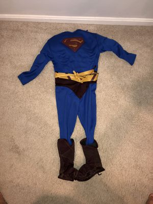 Kids Superman Costume with defined muscles for Sale in Clarksville, MD