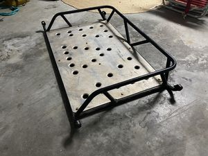 Jeep TJ custom rear cargo rack for Sale in Ocoee, FL