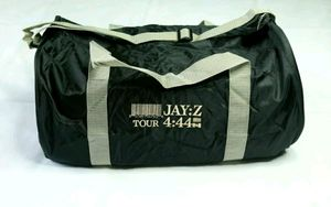 EUC Jay Z 4:44 Tour Travel Gym Hip Hop Zip Duffle Bag for Sale in Weston, FL