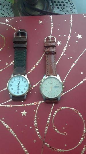 2 Timex they have new r band running in exelent condition new batterys 45.00 both O B Oferr for Sale in Richmond, CA