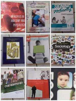 College books 25 each for Sale in Slidell, LA