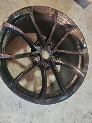 Corvette black rim 20x12 for Sale in Chicago, IL