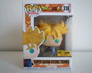 Funko Pop! Dragon Ball Z Super Saiyan Future Trunks Hot Topic Exclusive for Sale in Miami, FL