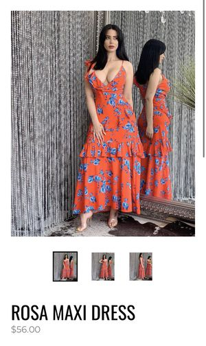 Rosa Maxi Dress for Sale in Virginia Gardens, FL