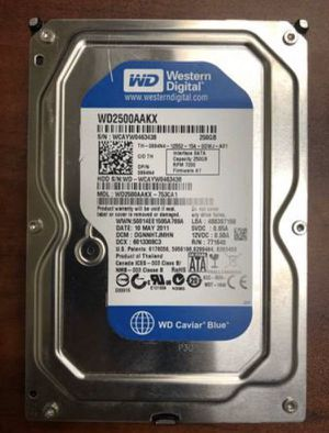 250 Gb Hard Drive for desktop computer for Sale in San Diego, CA