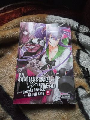 High school of the dead book #5 for Sale in Los Angeles, CA