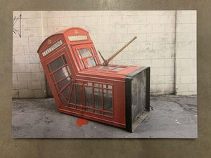 Banksy Reprint Death of Phonebooth for Sale in Seattle, WA