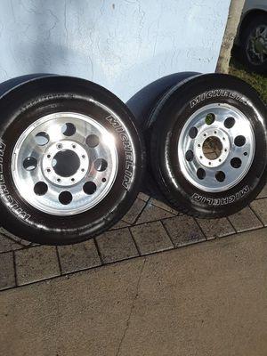 2 tires with rims for Sale in Jupiter, FL