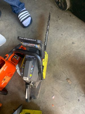 Go elite Ryobi 14inch chainsaw for Sale in Ontario, CA