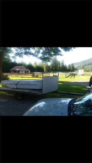 Snowmobile tilt deck trailer for Sale in Snohomish, WA