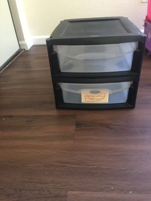 Plastic drawers- as it is for Sale in San Diego, CA