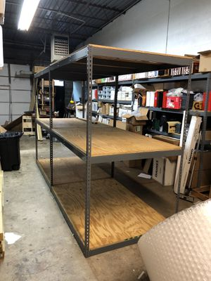 Large heavy duty shelf units for Sale in Hauppauge, NY