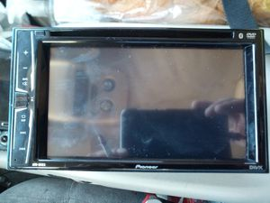 "Pioneer 6.2"" Built-in Bluetooth - In-Dash CD/DVD/DM Receiver Black for Sale in Riverside, CA"