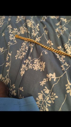 18k yellow gold plated chain for Sale in Port St. Lucie, FL