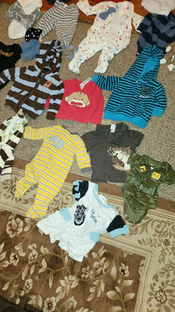 Baby boy clothes size 3/9 months for Sale in Kent, WA ...