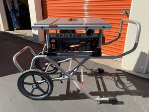 SKILSAW - 10 in. Heavy-Duty Worm Drive Table Saw for Sale in Tempe, AZ