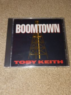 Toby Keith Boomtown New Unopened $10 for Sale in Cleveland,  OH