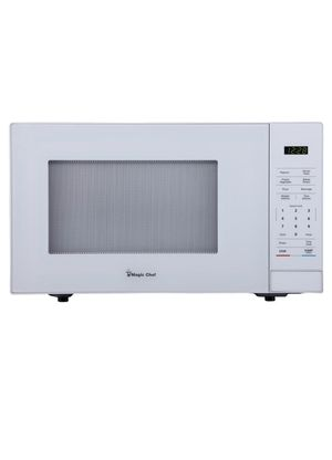 Magic Chef 1.1 cu. ft. Countertop Microwave in White for Sale in Phoenix, AZ