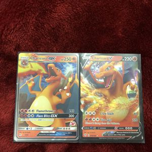 Charizard V And GX for Sale in Phoenix, AZ